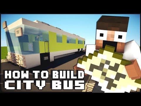Minecraft Vehicle Tutorial Bus