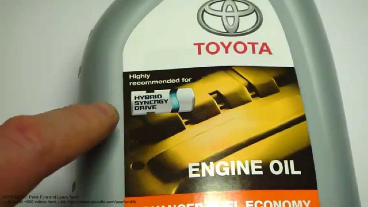 What Is Excellent Engine Oil For Toyota Hybrid Cars Like