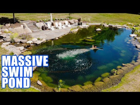 Best Ever Recreation Pond and Waterfall: Greg Wittstock, The Pond Guy