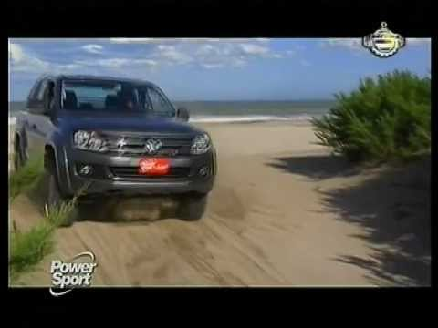 VW Amarok Automática - Prueba de manejo