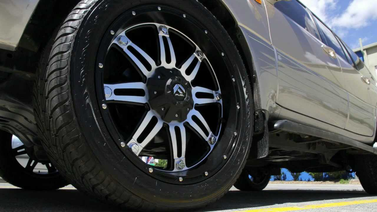 Lexus Lx470 Custom Rims 22 Inch Fuel Hostage Custom Wheels