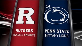 Rutgers at Penn State - Football Highlights