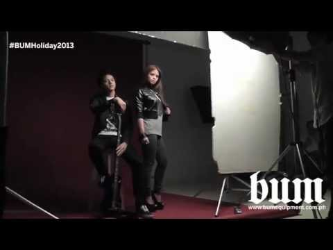 BUM Holiday 2013 Behind The Scenes with Daniel Padilla and Bea Binene