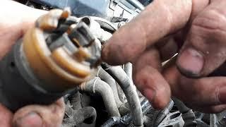 Замена шлангов охлаждения Opel Vectra B