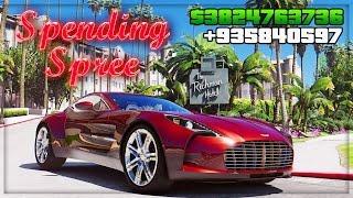 GTA 5 DLC UPDATE ONLINE!! $$ SPENDING SPREE!! $$ - NEW DLC CARS, RACES, STUNT UPDATE (GTA 5 ONLINE)
