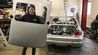 E46 M3 Racecar Build Pt 7: Removing the Roof!