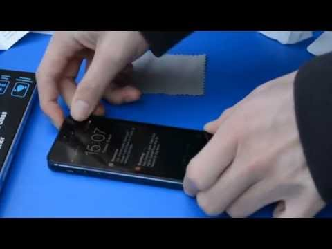 ScreenKnight Premium Tempered Glass Screen Protector Installation on iphone 5 / 5c / 5s