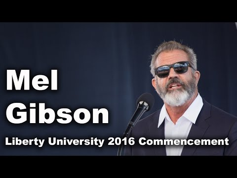 Commencement 2016 - Mel Gibson