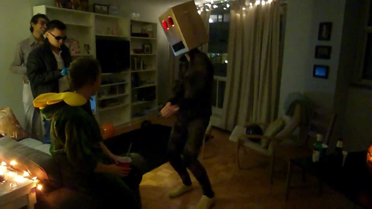 Party Rock Anthem Robot Costume Robot Costume Party Rock