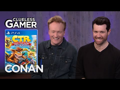 "download song Clueless Gamer: ""Crash Team Racing Nitro-Fueled"" With Billy Eichner - CONAN on TBS free"