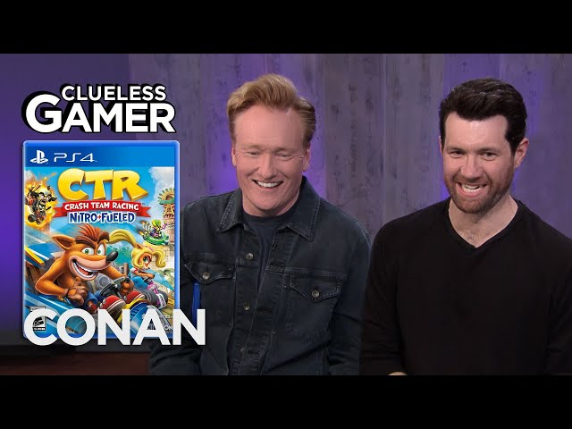 "Clueless Gamer: ""Crash Team Racing Nitro-Fueled"" With Billy Eichner - CONAN on TBS thumbnail"
