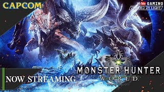 Monster Hunter World (PC) | LIVE STREAM | Let's Play | Finally reached High Rank!
