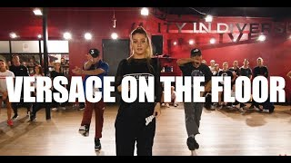 """Versace on the Floor"" Bruno Mars Alexander Chung Choreography"