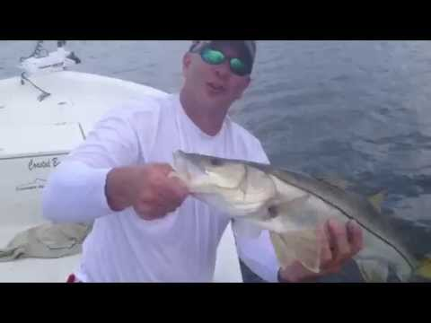 5/15/13 - Jensen Beach, FL Snook fishing report - Capt. Greg Snyder