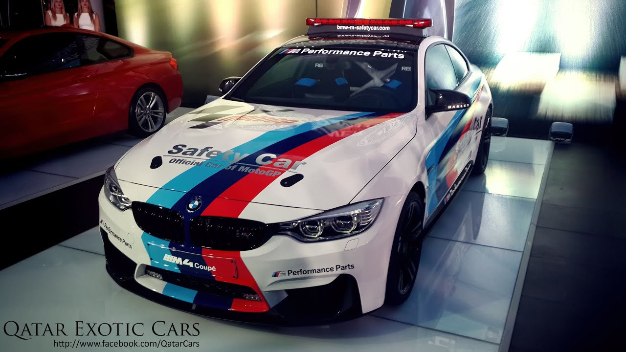 BMW's MotoGP M4 Safety Car Unveiled and Exhaust Sound - YouTube