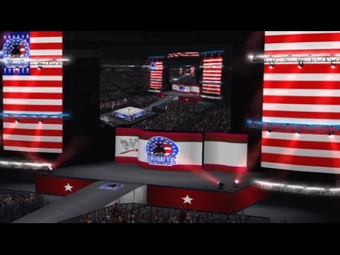 WWE '13 Community Showcase: Tribute To The Troops Arena (PlayStation 3)