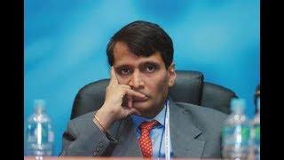Railway Minister Suresh Prabhu Offers To Resign