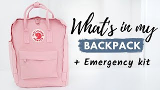 What's In My Backpack + Emergency Kit 2019 (Junior Year)