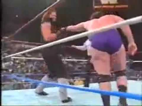The Undertakers First Match Ever video