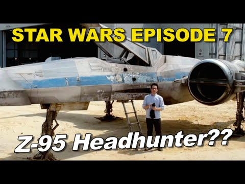 Z-95 Headhunter in Star Wars Episode 7