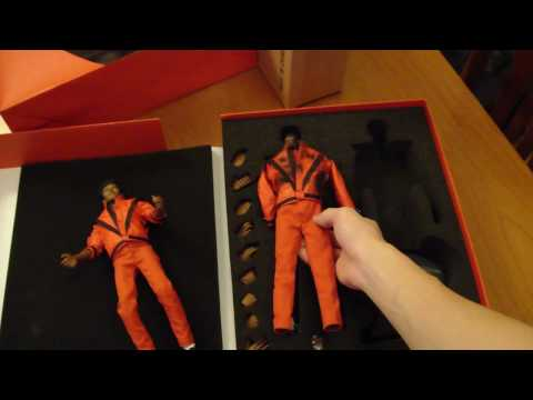 Michael Jackson THRILLER FIGURE UNBOXING - Brand New MJ Collectables Hot Toys Hong Kong Japan
