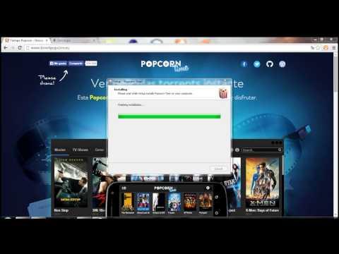 Como ver películas HD gratis en la aplicación (popcorn time)