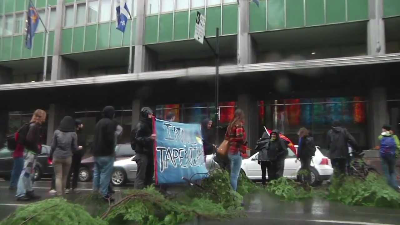 Solidarit avec le peuple innu contre le Plan nord  Montral