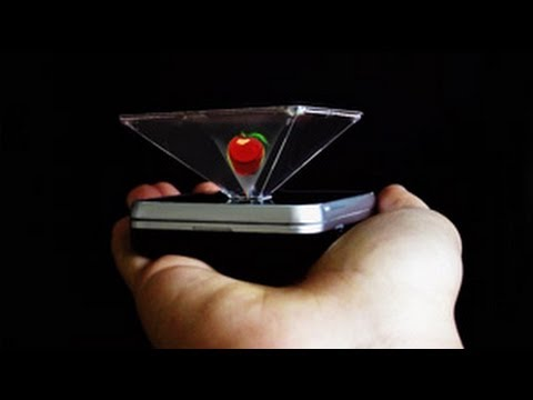 DIY Hologram generator 3D, No glasses