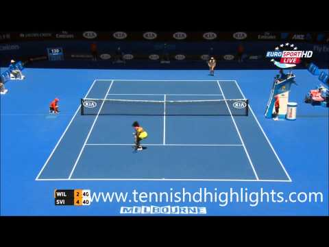 Serena Williams vs Elina Svitolina Highlights HD Australian Open 2015