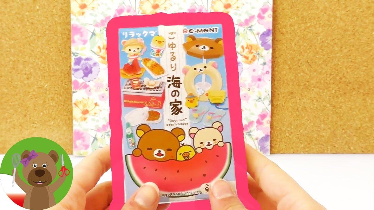 Pudełko z niespodzianką | miniaturki Kawaii | urocze japońskie figurki | unboxing