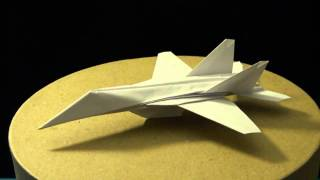 Advanced Origami F-18 Hornet By: Ken Hmoob