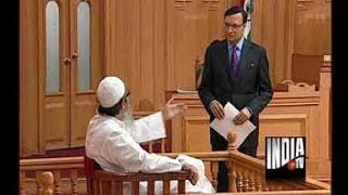 Aap Ki Adalat - Maulana Mahmood Madani, Part 2