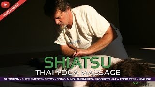 SHIATSU as THAI YOGA MASSAGE | GUIDED MASSAGE from LIVET LIFESTYLE