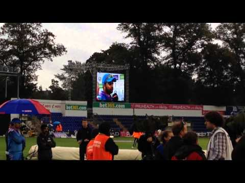 Raina amazing man of the match performance Cardiff 2014