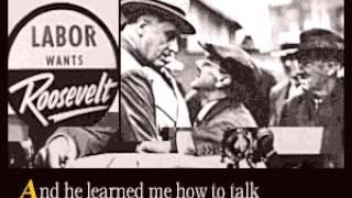 Watch Woody Guthrie Dear Mrs. Roosevelt video