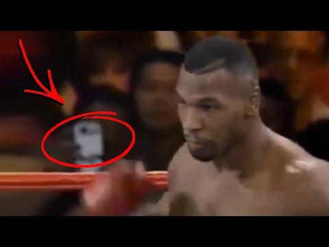 Captan a Viajero del Tiempo en pelea de MIKE TYSON de 1995