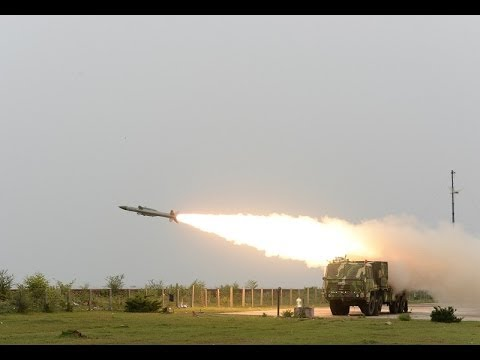 Akash missile test in low altitude by India 2014