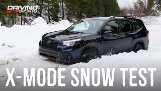 2019 Forester Dual X-Mode Explained and Real World Test #drivingsportstv