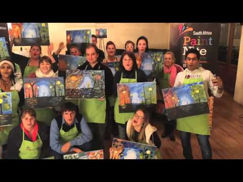 Hello Paint Nite from South Africa.