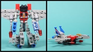 Kre-o Transformers Starscream - Kreon Battle Changer Building Toy - Unboxing, Speed Build & Play