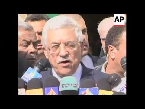 Abbas criticises settlement policy, Fatah, Israeli cabinet