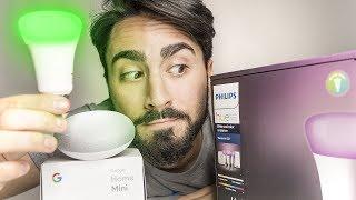 Accendere la luce con la voce - Google Home e Philips HUE