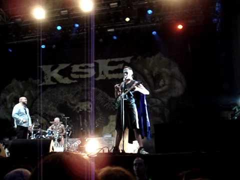 Gods of Metal 2010 - Adam Dutkiewicz KSE beer 2