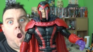 Marvel Legends MAGNETO X-Men Apocalypse Build A Figure Wave Action Figure Review