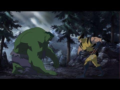 Росомаха против Халка