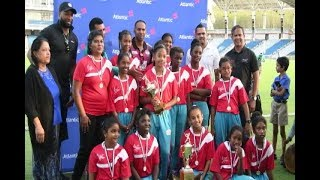 Winners' Row At Atlantic Primary School Cricket League Inter School Competition
