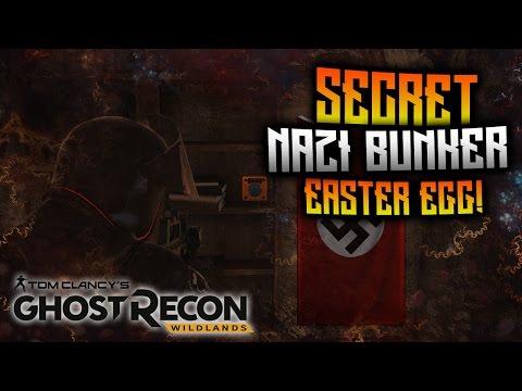 Ghost Recon Wildlands - SECRET Nazi Hideout Bunker Easter Egg