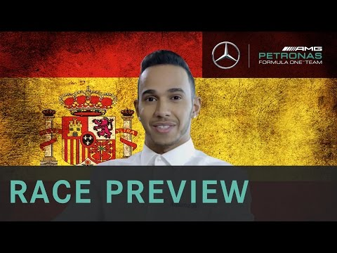 Lewis Hamilton 2015 Spanish Grand Prix Race Preview, with Allianz