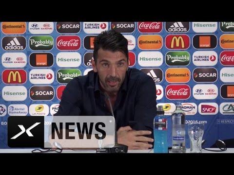 "Gianluigi Buffon: Manuel Neuer besser? ""Kann schon sein"" | Deutschland - Italien | EM 2016"