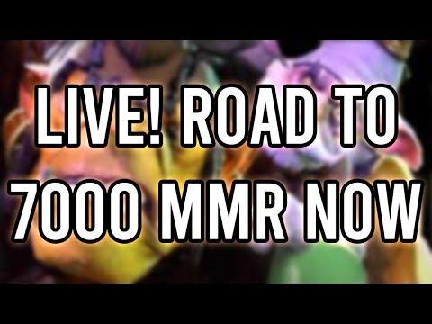 Giving it 100%   Road to 7k   Rawdota - Dota 2 Live